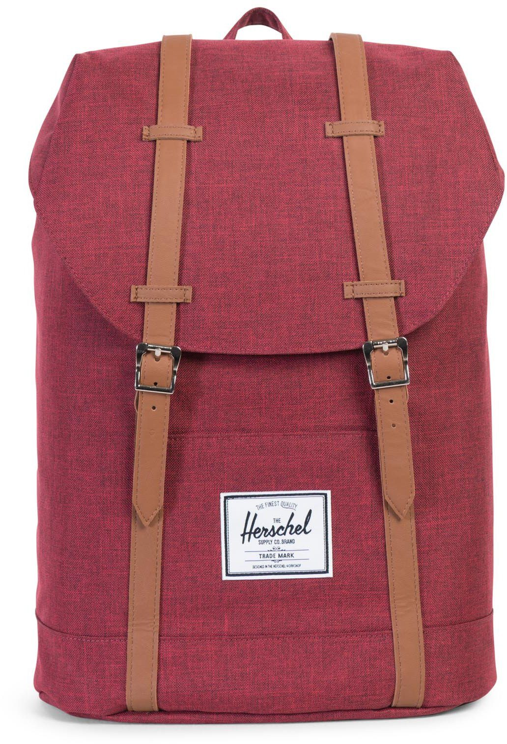 Herschel Rucksack, »Retreat Winetasting Cross«